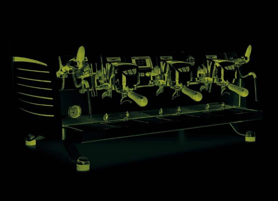 Black Eagle TFT T3 – 2 Group Volumetric Commercial Coffee Machine